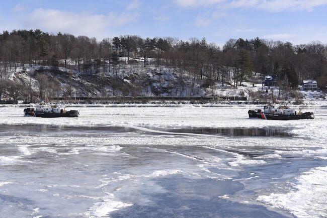USCG Ice breaking
