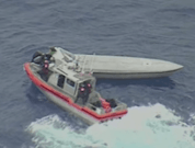 Watch: USCG Fighting New Stealthy, Fast Drug Smuggling Vessels in Pacific