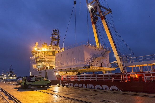 Wagenborg W2W Vessel