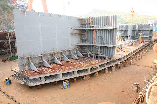 keel laying tankers_hanjin_2