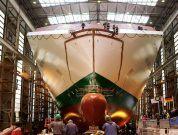 "Watch: Irish Ferries Names And Launches Hull Of New Cruise Ferry ""W.B. Yeats"""