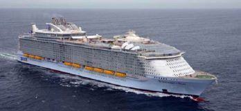 Sea Trials Of Cruise Ship 'Symphony Of The Seas' Carried Out Successfully