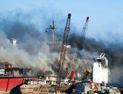 Shipyard Fire