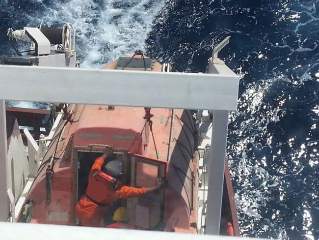 lifeboat drilling