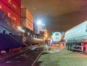 Rotterdam bunker port