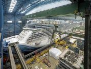 Watch: Amazing Float-Out Video Of Cruise Ship Norwegian Bliss
