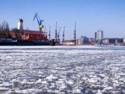 Watch: Ice Breakers On Duty In Freezing Temperatures At Port Of Hamburg
