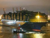 Watch: Largest Container Ship To Call At The Port Of Hamburg