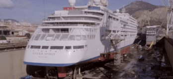 Watch: The First Luxury Cruise Ship To Be Extended In Modern History