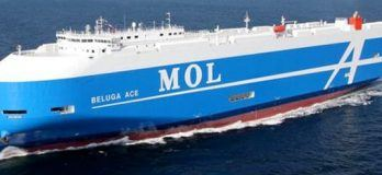 Beluga Ace: The 1st Next-Generation Flexie Series Car Carrier Delivered