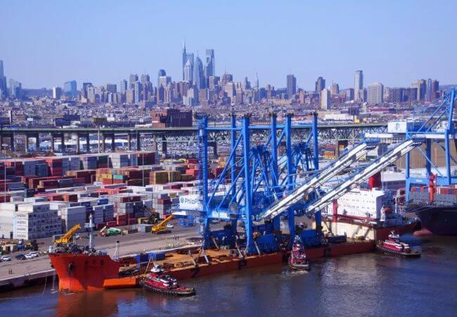 New Port of Philadelphia cranes