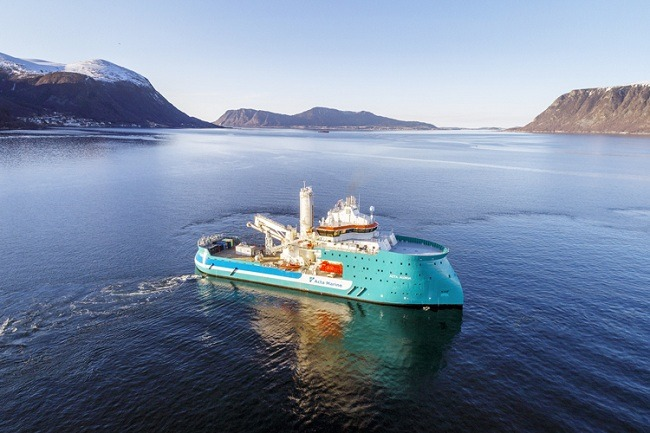 Early delivery of the Acta Auriga from Ulstein Verft