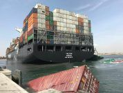 Breaking: Ships Collide At Karachi Port, Containers Fall Into Sea [Video & Photos]
