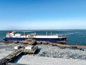 The LNG ship from Australia