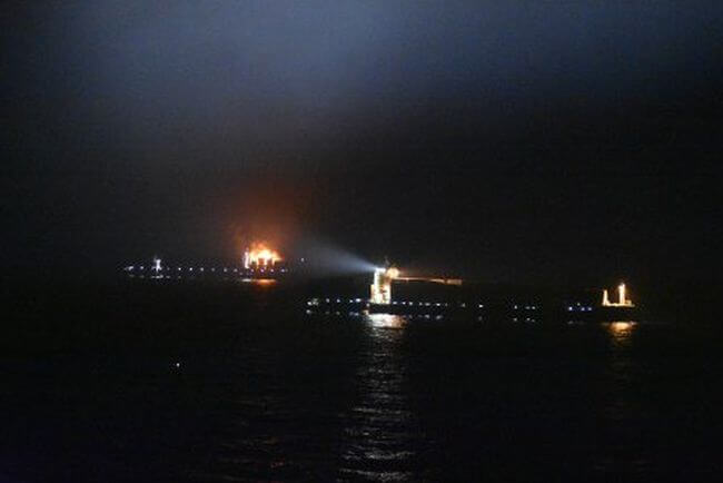 maersk on fire 2