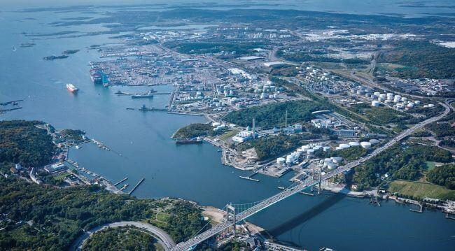 port of gothenburg_sweden
