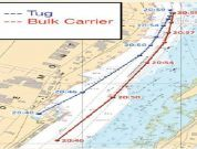 Real Life Incident: Collision Of Bulk Carrier And Tug In Plain Sight