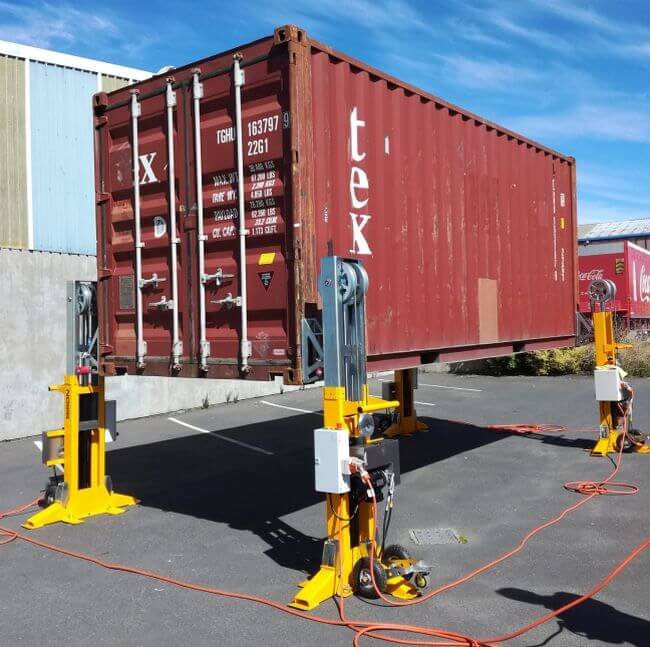 BISON Automated Container Lift Solution