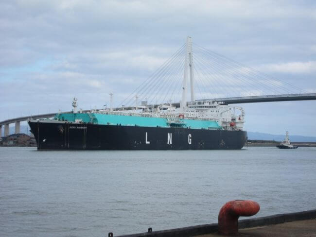 Hokuriku Electric_Petronas_first LNG Delivery_!