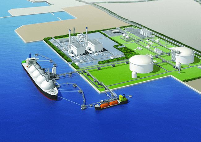 Japan LNG Terminal
