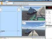 Reconstructing and simulating ship operations