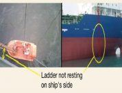 Real Life Incident: Fall From Embarkation Ladder Leaves Crew Member Unfit For Sea Service