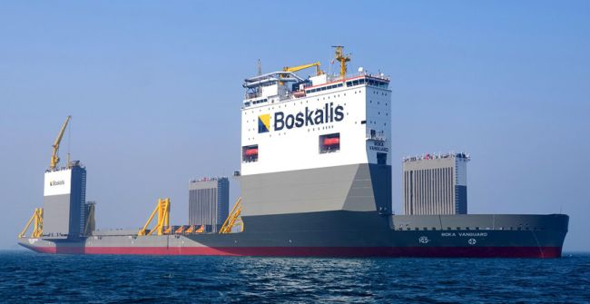 Boskalis Heavy marine transport