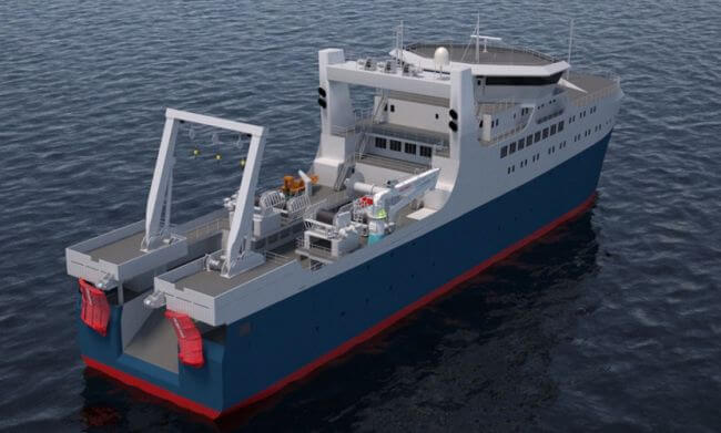 Knud E  Hansen Rethinks Design For Ocean Factory Trawlers