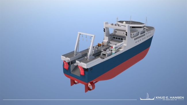 Ocean factory trawler designed by KNUD E. HANSEN front_back_745x419