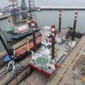 Refit for jack-up MPI Enterprise at Damen Verolme Rotterdam (2) lowres