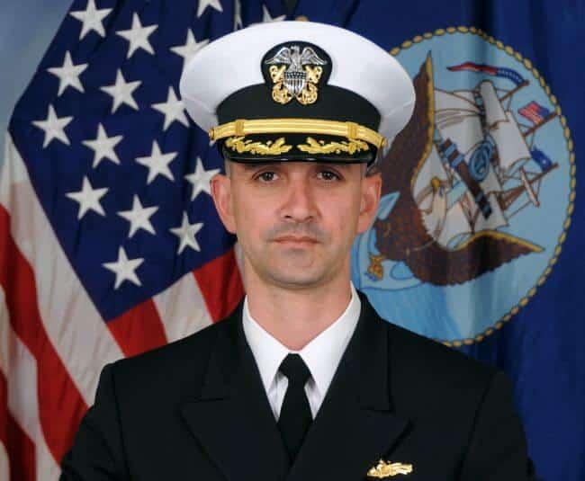 US Navy Former CO John S McCain