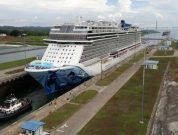 norwegian bliss in expanded panama canal