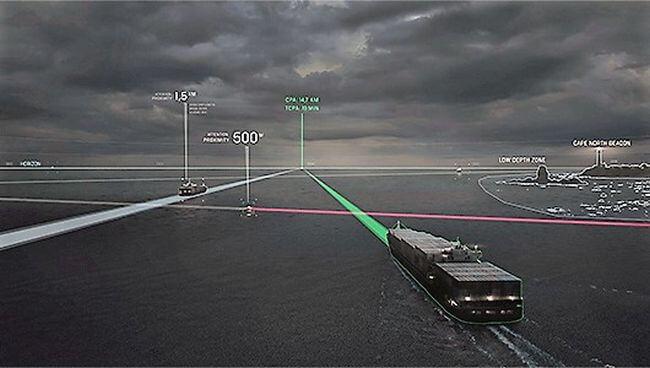 rolls royce axa autonomous shipping