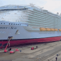 symphony of the seas in dry dock (1)