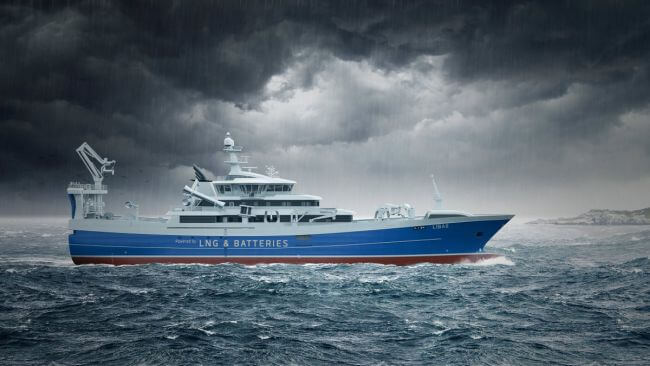 MAN To Equip World?s First LNG-Powered Fishing Trawler