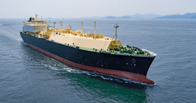 DSME Delivers World's First LNGC With Full Re-Liquefaction System