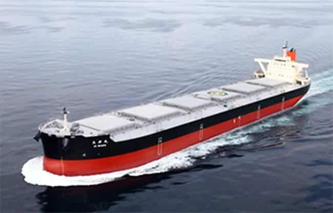 MOL's Newbuilding Coal Carrier