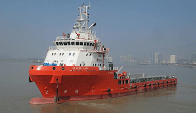 Seacor marine first OSV_maya