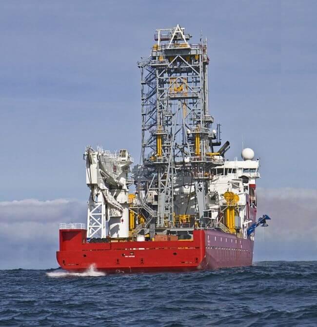 The Akofs Seafarer vessel