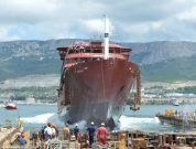 Watch: Brodosplit Launches World's First Polar Expedition Cruise Vessel Of 'LR PC6' Class