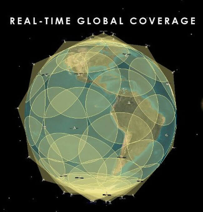 real time global tracking exactEarth