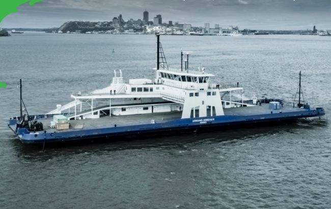 Davie LNG Powered Ferry