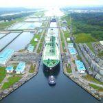 Panama Canal 4000th Neopanamax Vessels