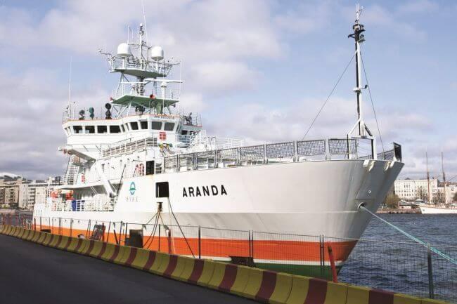 aranda fuel cell tech shipping
