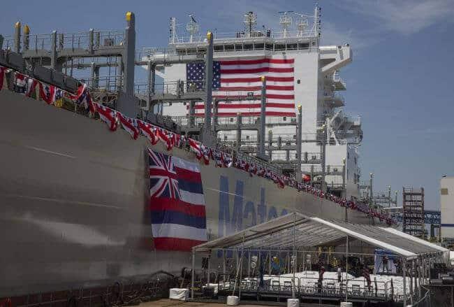 daniel k inouye matson_us largest container ship_!