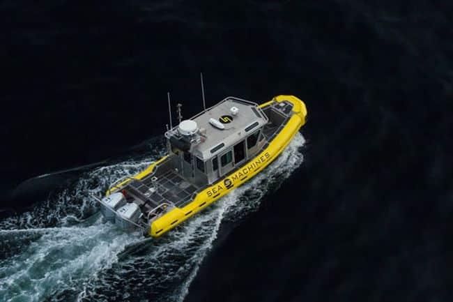sea machines robotics_autonomous Vessel