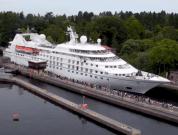 Watch: The Largest Cruise Ship To Pass Through Ballard Locks