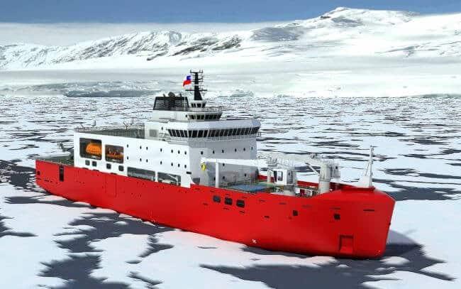 Chilean Navy Asmar Icebreaker (1)