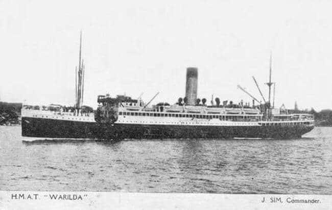 HMAT Warilda (2)