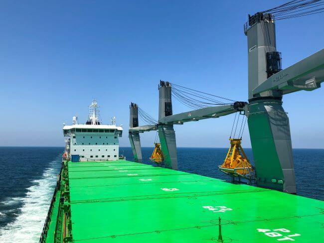 Haaga at sea_natural gas powered